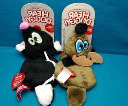flattie ultrasonic squeaker dog toys skunk or
