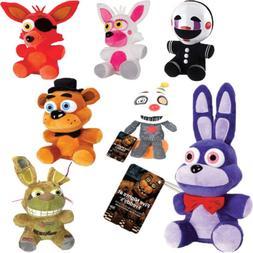 "FNAF Five Nights At Freddy's Sanshee Plushie Toy 7"" Plush Be"
