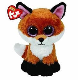Fox 6 Ty Beanie Boos Whiskers Puppy Big Glitter Eyes Plush S