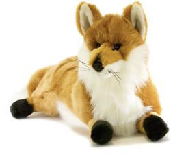 ~❤️~FOX Hunter By BOCCHETTA Plush Animal Soft Toy Laying