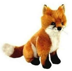Fox Plush Stuffed Soft Toy 24cm Reynard by Bocchetta