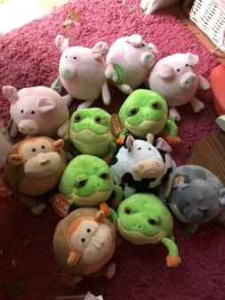 Goofballz FroG, Pig, Cow, Koala, Monkey Stuffed Animal Child