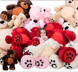Gaint Teddy Bear Huge Stuffed Plush Doll Animal Throwing Toy