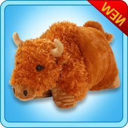 "Genuine My Pillow Pet BUFFALO Large 18"""