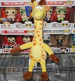 Geoffrey Giraffe Stuffed Plush Animal Toys R Us 2017 Brand N