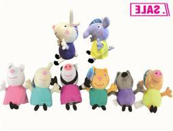 George Peppa Pig Tamil&Friends Pappa Plush Doll Stuffed Toy