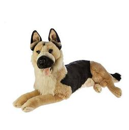 "German Shepherd Alsation Extra Large plush toy 25""/60cm Caes"