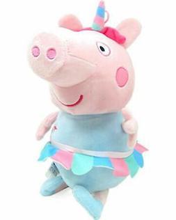 "Giant 16"" Tall Peppa Pig Unicorn Plush Toy. Super Soft. Lice"