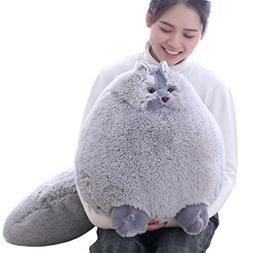 Winsterch Giant Cats Stuffed Animal Plush Cat Toys Pillow Ki