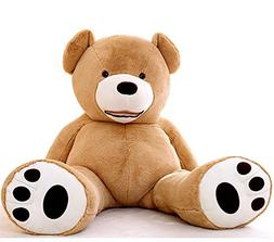 J-beauty Giant Extra Large Light Brown Lovely Bear with Big