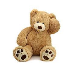 MorisMos Giant Teddy Bear with Big Footprints Plush Stuffed