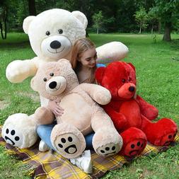 Giant Teddy Bear Soft Stuffed Plush Animal Toy Birthday Chri