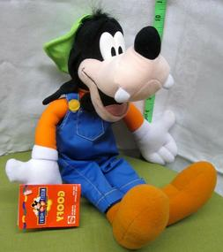 GOOFY plush doll Mickey For Kids series Disney toy NWT overa