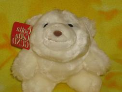 "Gotta Getta Gund Snuff White Plush Polar Bear  Snuffles 7"" T"