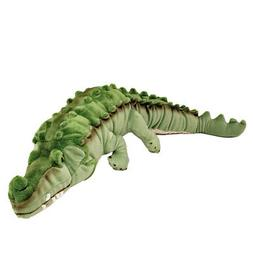 Green Crocodile Soft  Plush Toy NEW Agro Bocchetta Plush Toy