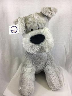 "Gund Grey Dog Plush 19"" Soft Toy Puppy Large Stuffed Animal"