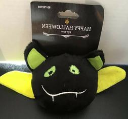 Halloween Black Bat with lime green accents Squeaky Squeaker