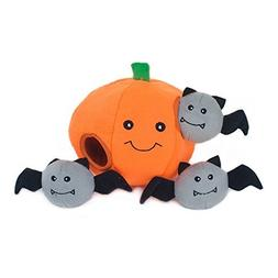 Halloween Dog Toy Pumpkin Puzzle