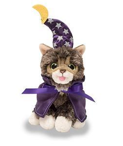 "Cuddle Barn Halloween Kitten Cat Plush Toy 5.5"" Baby Lil' Bu"