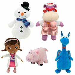 Disney Hamm Doc McStuffins Chilly Hallie Hippo Stuffy Plush