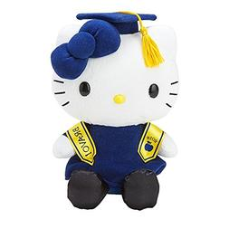 """Sanrio Hello Kitty Class of 2018 8"""" Plush Doll with Academic"""