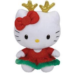 Hello Kitty Reindeer Ears - Stuffed Animal by Ty