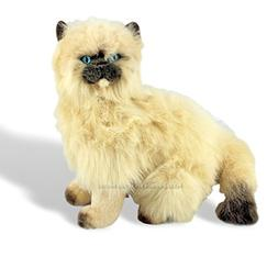Bocchetta Plush Toys Himalayan Cat Kitten Sitting Soft Plush