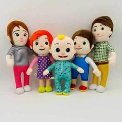 HOT Cocomelon JJ's Family Educational Plush Stuffed Doll Toy