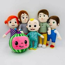 HOT Cocomelon JJ's Family Educational Plush Stuffed Doll Toy