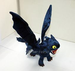 How To Train Your Dragon Night Fury Stuffed Plush Toy Power