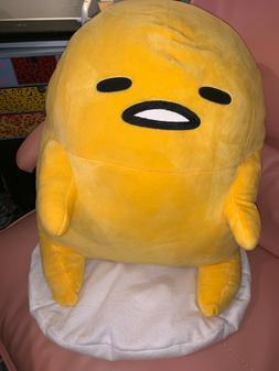 HUGE XL Gudetama Lazy Egg Plush Stuffed Toy San-X Japan Kawa