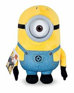 Despicable Me Huggable Plush Minion Carl Toy Figure