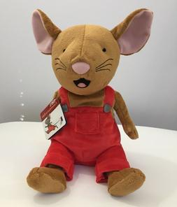 If You Give A Mouse A Cookie Plush Red Overalls Stuffed Toy