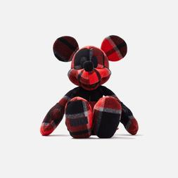 IN HAND * Kith x Disney Large Mickey Plush Plaid Mouse
