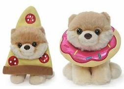 "GUND Itty Bitty Boo 5"" Inch Plush Snacktime Bundle Of 2, Don"