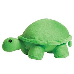 Manhattan Toy Jellybeans Leaf Turtle Plush, 4.5""