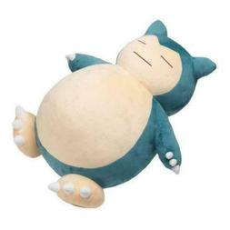 "Jumbo SNORLAX Center Plush Toy Stuffed Doll 12""/30cm Pillow"