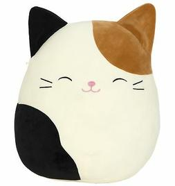 "Kellytoy Squishmallow 8"" Cam the Cat Super Soft Plush Toy"