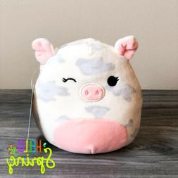 """Kellytoy Squishmallow 5"""" Rosie Spotted Pig NEW Spring 2020 H"""