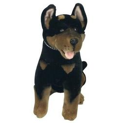 "Kelpie Dog soft plush toy stuffed animal 11""/28cm Rex by Boc"