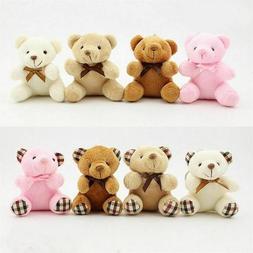Kids Toy Stuffed Animals Fluffy Bear Mini Teddy Bear Cute Pl