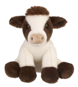 "L@@K Ganz 12"" Cow H14199 Baby Toy Stuffed Animal Plush Globa"