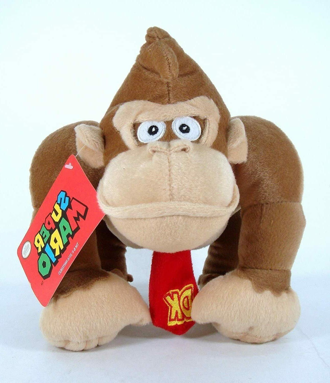 "10"" Official Super Mario Donkey Kong Plush Stuffed Boys Kids"