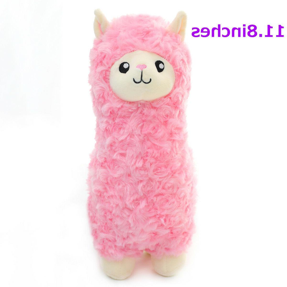 "Winsterch 11.8"" Plush Stuffed Animals Llama Alpaca Cute Plus"
