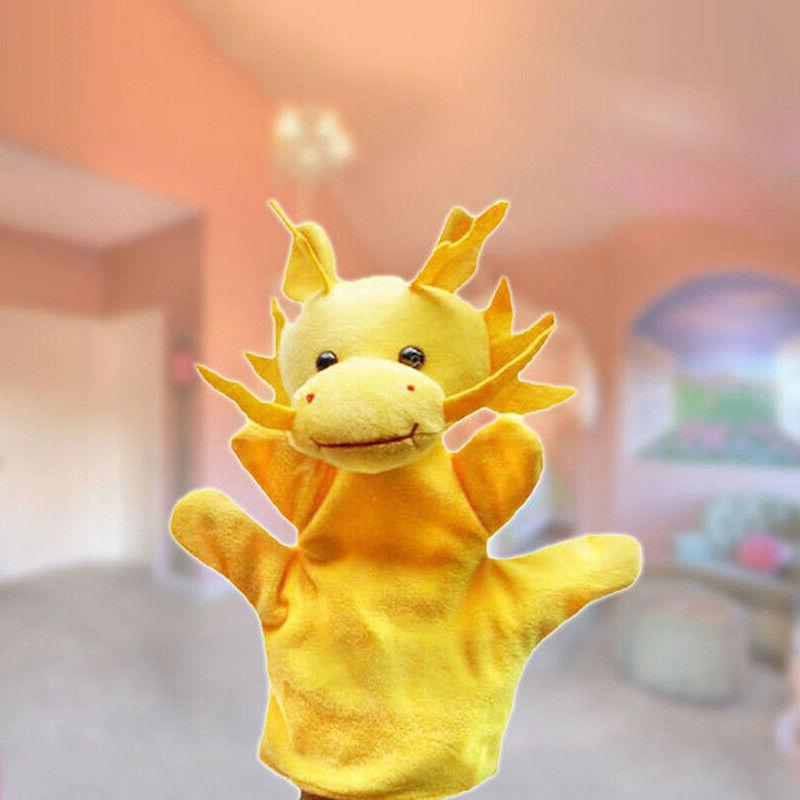 12 Styles Hand Finger Puppets Cartoon Educational Toys Kids Gifts