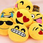 13 Inch Emoji Emoticon Pillow Round Yellow Stuffed High Qual