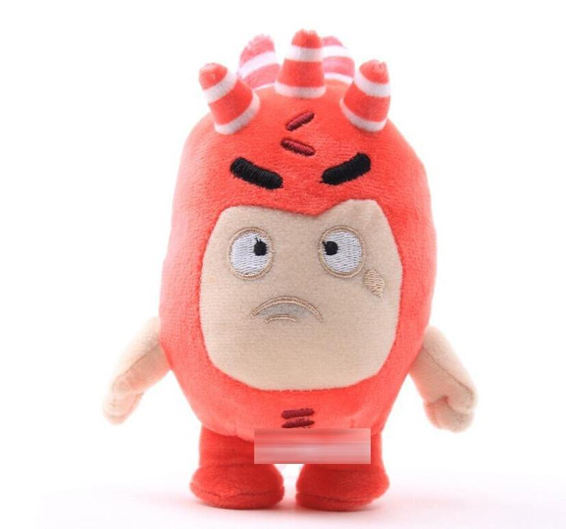 18cm 2020 new Cartoon Fuse Jeff Odd ZEE Bods Animals <font><b>Plush</b></font> Soft <font><b>Toys</b></font>