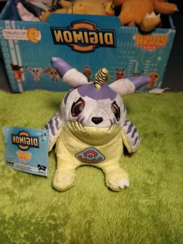 1x DIGIMON GABUMON COLLECTIBLE MINI PLUSH FIGURE ZAG TOYS NE