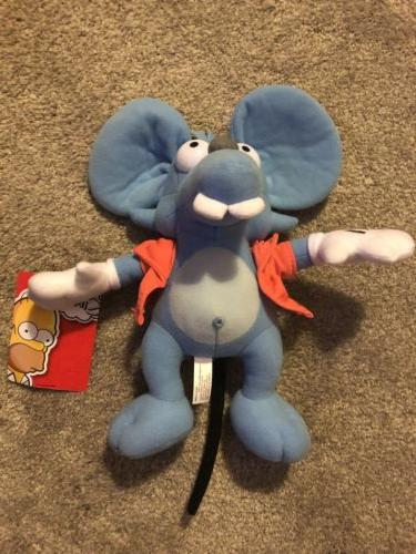 2017 11in The Simpsons Itchy Plush Toy Factory Stuffed Anima