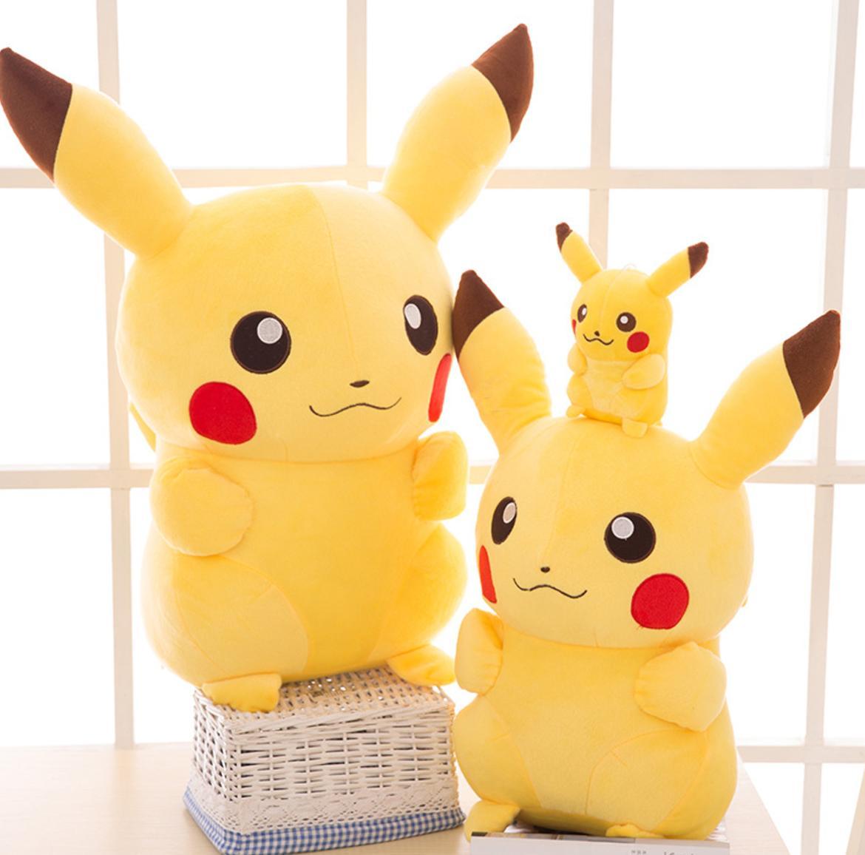2017 New Pokemon Center Stuffed Doll Anime Pikachu Soft Plus